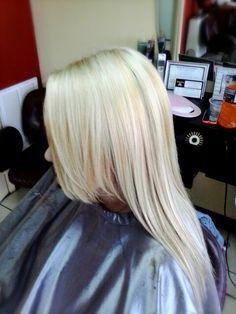heavy blonde