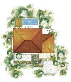 Villa Style: Verano - Roof Plan