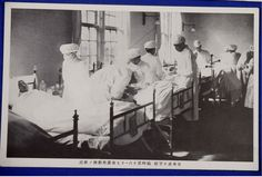 "1930's Japanese Postcards ""Sino Japanese War, Japan Red Cross Aid Unit Activities Scenes"" - Japan War Art"