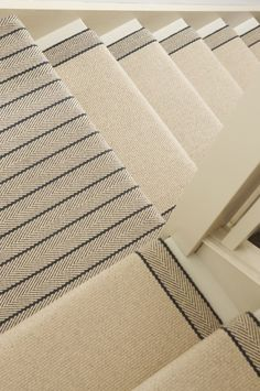 Carpet Cleaning Tips. Discover These Carpet Cleaning Tips And Secrets. You can utilize all the carpet cleaning tips in the world, and guess exactly what? You still most likely can't get your carpet as clean on your own as a pr Basement Flooring, Carpet Flooring, Rugs On Carpet, Hall Carpet, Carpet Decor, Carpet On Stairs, Striped Carpet Stairs, Stairway Carpet, Basement Steps