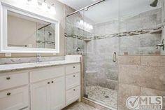 seamless roomy shower