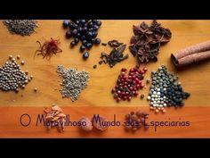 Conheça as especiarias da cozinha - YouTube