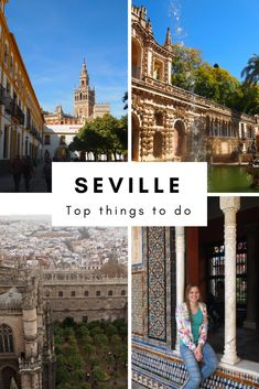 The best things to do in Seville, #Andalusia #Spain. #Seville is a beautiful city in the south of Spain with Moorish influences. Visit the Real Alcázar and many more!
