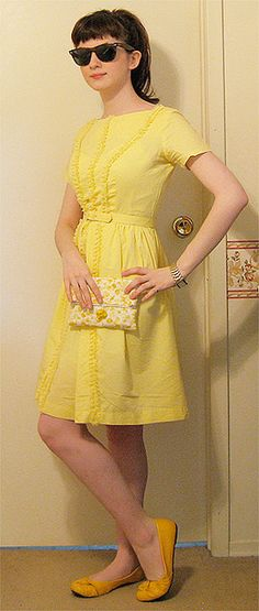 Hannah Karina on Flickr... this girl has the cutest style! #fashion #retro #style