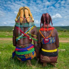 Mwila tribe - Angola_ Eric Lafforgue_ Mwila women are also famous for their… Eric Lafforgue, Black Is Beautiful, Beautiful World, Beautiful People, Beautiful Children, Beautiful Images, Kenya, Tanzania, We Are The World