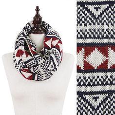 Preppy infintiy scarf