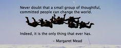 MasterMind Group Quote Margaret Mead