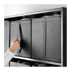 SKUBB Box, black black 12 ¼x13 ½x13