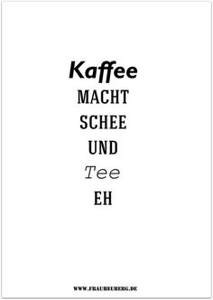 """Kaffee macht schee..."" by frauheuberg ...sweet freebies to download every Wednesday"