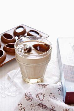 homemade nutella mOcha frappuccino