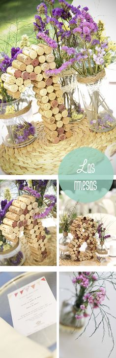 Cork table numbers!