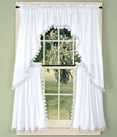 25 best window curtains tier valence combination sets images rh pinterest com