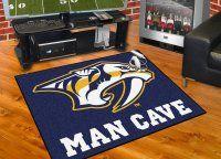 Nashville Predators All Star Man Cave Mat Floor Mat. $34.99 Only.