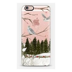 iPhone 6 Plus/6/5/5s/5c Case - Snowy Owl (€37) ❤ liked on Polyvore featuring accessories and tech accessories