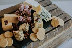 Add a cheese table to finish off your Wedding meal.