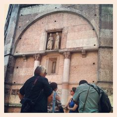 3rd stop: the pink Baptistery of Parma - Instagram by @n_montemaggi