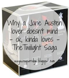See You In A Porridge: Why I kinda don't mind the Twilight series #reading #books