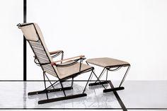 Massproductions - Spark Lounge Chair and Footstool. Scandinavian designer furniture with a modernist spirit!