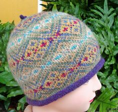 GEMS Fair Isle Hat by Terry Morris on Ravelry