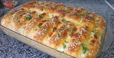 3 Kat Fazla Kabaran Kahvaltılık Tarifi | Renkli Hobi Bread Recipes, Cake Recipes, Cooking Recipes, Turkish Recipes, Ethnic Recipes, Cheese Bread, Hot Dog Buns, Lasagna, Banana Bread