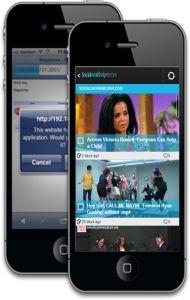 phones1 190x300 Social Work Helper Mobile App