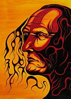 Friends United by Rolf Bouman | Native Art, Aborigian Art, Friends United Canada, First Nation Art
