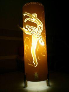 Luminária PVC Bailarina 100mm