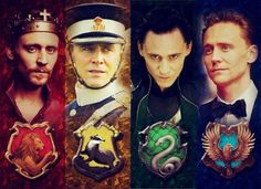 Tom Hiddleston. The Hallow Crown Trilogy. Henry IV Henry V. War Horse. Thor and The Avengers.