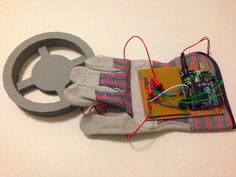 Arduino Glove Metal Detector: 7 Steps (with Pictures) Lead Acid Battery Charger, Battery Charger Circuit, Kids Electronics, Electronics Projects, Male Jumper, Projects For Kids, Diy Projects, 9 Volt Battery, Robots For Kids