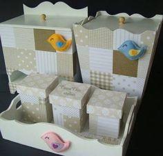 Resultado de imagem para kit bebe mdf nautico