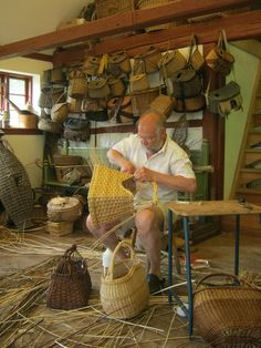 Steen Madsen. Beautiful baskets.