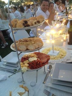 #BlancBNE #DEBbne Our Entree for this years Diner En Blanc in Brisbane - Roma St Parklands