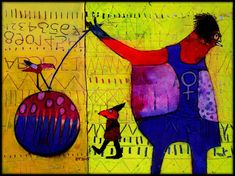 The Art of Fibrite, Elketrittel, mixed media artist.  IMG_4521b