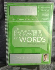 Joyce Meyer The Power Of Words Action Plan DVD CDs Scripture Cards
