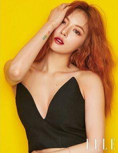 Hyuna ELLE magazine