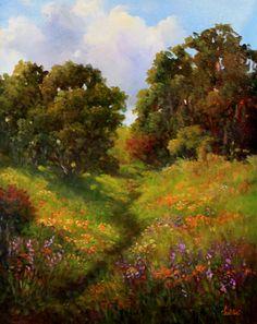 Springers Pond Lake County by Gail Salituri