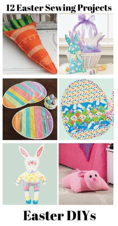 Get your sewing machines ready because we have the best projects for Easter! | Sewing Projects | Easter Sewing Projects
