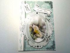 Trauer & Beileid - Karte Trauer Nr. 551 - ein Designerstück von MM-Bastelparadies bei DaWanda