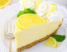 This Lemon Mascarpone Cream Pie is full of lovely lemon flavor! It's light and perfect for summer! Plus, I love the addition of the smooth and creamy mascarpone cheese! (more…) The post Lemon Mascarp Easy Pie Recipes, Cream Pie Recipes, Lemon Recipes, Lemon Desserts, Great Desserts, Summer Desserts, Summer Food, Frozen Desserts, Lemon Whipped Cream