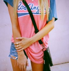 Love this sporty summer look!