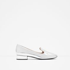 LAMINATED FLAT SHOES-View all-SHOES-WOMAN | ZARA United States