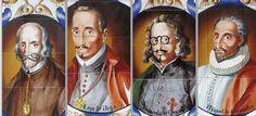 Calderón, Lope de Vega, Quevedo y Cervantes