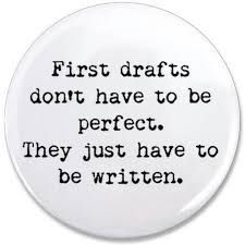 """As far as I'm concerned, there's only one rule about a first draft and it's this: """"Get the damn thing done!"""" That's why I created the Pages I: Writing the First Draft workshop, a structured online… Writing Advice, Writing Resources, Teaching Writing, Writing Help, Writing A Book, Writing Prompts, Start Writing, Writing Images, Writing Courses"""