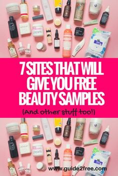 7 Sites That Will Give You FREE Beauty Samples (And Other Stuff Too!) Why pay for beauty products when you can get them for FREE? Did you know there are several panels you can join that give away FREE full size beauty products and other items too. Free Beauty Samples, Free Samples By Mail, Free Makeup Samples, Free Stuff By Mail, Get Free Stuff, Free Samples Canada, Makeup Sample Box, Free Samples For Women, Free Baby Stuff