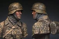 SS Grenadier model figure