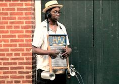 Washboard Chaz - USA