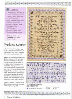 South-West Wedding Sampler 1/4