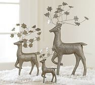 Love these for Christmas decor, I prefer the silver to gold on Christmas.