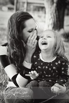 Mommy and Daughter. Beautiful moment captured.
