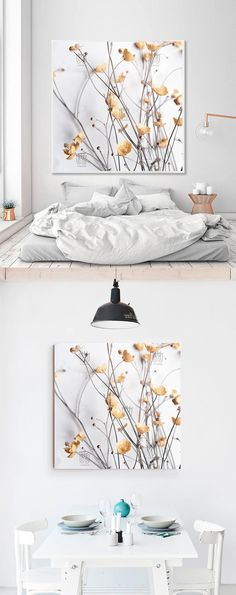 If you like the glance of beautiful fireplace screens but do not have a fireplace in your home, why not consider using one as wall. Bedroom Posters, Bedroom Wall, Bedroom Decor, Wall Decor, Elegant Flowers, Natural Home Decor, Kitchen Wall Art, Professional Camera, Plant Decor